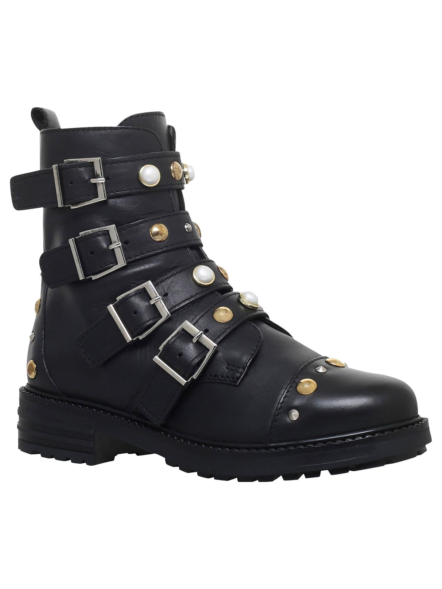 29244da92f6 BuyCarvela Swish Buckle Embellished Ankle Boots