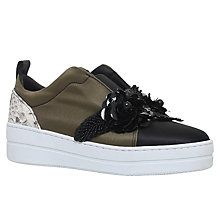 Buy Kurt Geiger Loop Low Top Trainers Online at johnlewis.com