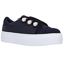 Buy KG by Kurt Geiger Orla Flatform Trainers Online at johnlewis.com