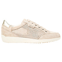 Buy Geox Myria Leather Lace Up Trainers Online at johnlewis.com