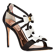 Buy Ted Baker Tie the Knot Appolini Bow Stiletto Sandals Online at johnlewis.com