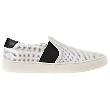 Buy Geox Trysure Leather Slip On Trainers Online at johnlewis.com