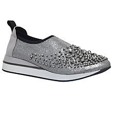 Buy KG by Kurt Geiger Opheila Slip On Trainers Online at johnlewis.com