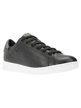 Geox Women's Jaysen Leather Lace Up Trainers