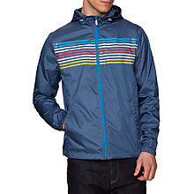 Buy Original Penguin Ombre Chest Strap Windbreaker, Vintage Indigo Online at johnlewis.com