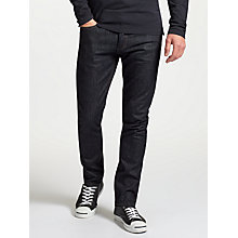 Buy Denham Vintage Comfort Stretch Rinse Razor Slim Fit Jeans, Indigo Online at johnlewis.com