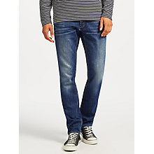 Buy Denham Razor Jeans, Dark Blue Online at johnlewis.com