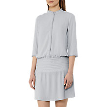 Buy Reiss Bergamo Pleat-Detail Dress, Fern Online at johnlewis.com