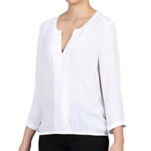 Buy Jolie Moi Pleat Front V-Neck Blouse Online at johnlewis.com