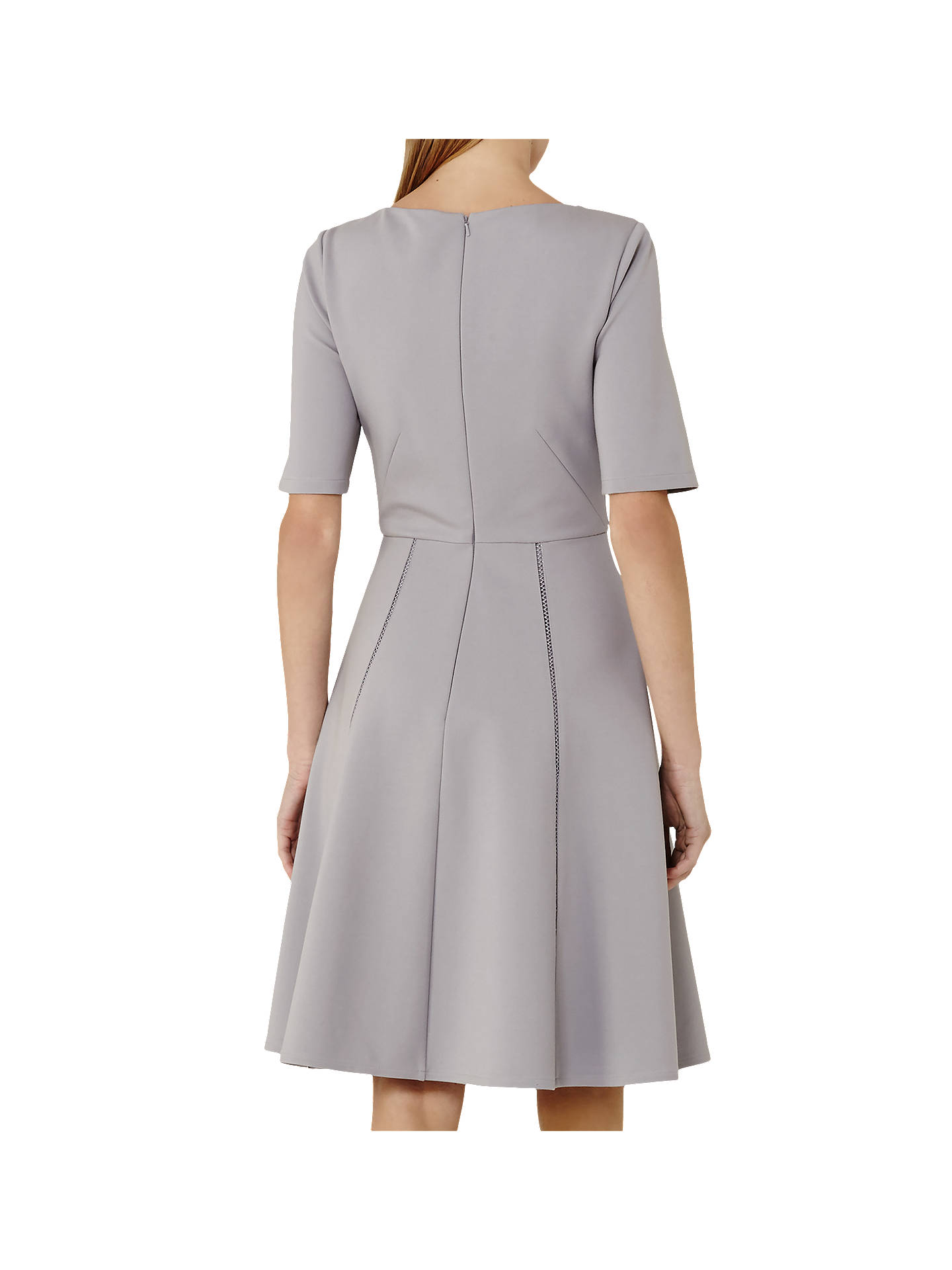 Reiss Tianna A-Line Dress With Trim Detail at John Lewis   Partners 37d74fe1f