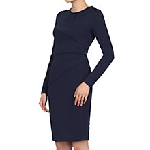 Buy Jolie Moi Asymmetric Folded Bodycon Dress Online at johnlewis.com