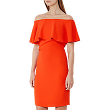Buy Reiss Balm Off The Shoulder Tie Back Dress Online at johnlewis.com