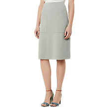 Buy Reiss Bridgette A-Line Skirt, Peppermint Online at johnlewis.com