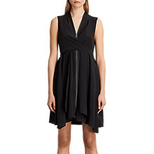 Buy AllSaints Jayda Dress, Black Online at johnlewis.com