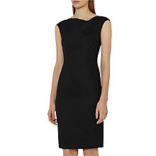 Buy Reiss Dartmouth Tailored Dress, Black Online at johnlewis.com