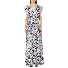 Buy Reiss Eli Printed Maxi Dress, Multi/Pink Online at johnlewis.com