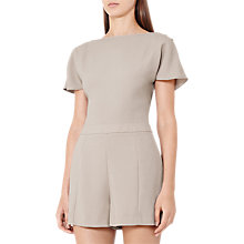 Buy Reiss Janetta Playsuit, Tiramisu Online at johnlewis.com