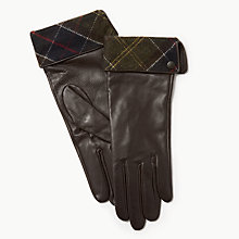 Buy Barbour Lady Jane Leather Gloves Online at johnlewis.com