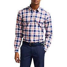 Buy Thomas Pink Parry Check Slim Fit Shirt, Navy/Red Online at johnlewis.com
