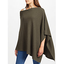 Buy John Lewis Cashmere Ribbed Poncho Online at johnlewis.com