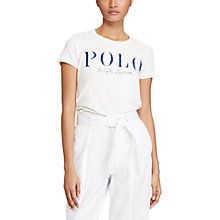 Buy Polo Ralph Lauren Logo Printed T-Shirt Online at johnlewis.com