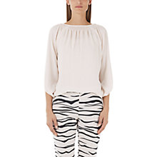 Buy Marc Cain Loose Fit Blouse, Panna Online at johnlewis.com