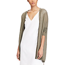 Buy Polo Ralph Lauren Open Front Cardigan, Olive Online at johnlewis.com