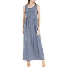Buy Max Studio Plait Strap Jersey Dress, Indigo Online at johnlewis.com
