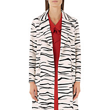 Buy Marc Cain Tiger Print Coat, Cream/Black Online at johnlewis.com