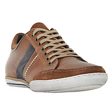 Buy Dune Tito Trainers, Tan Online at johnlewis.com
