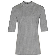 Buy Reiss Fawn Interest Top, Blue/White Online at johnlewis.com