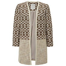 Buy White Stuff Azalea Textured Jacket, Hawthorn Green Online at johnlewis.com