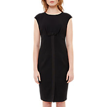 Buy Ted Baker Zeevad Bow Detail Pencil Dress, Black Online at johnlewis.com