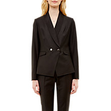 Buy Ted Baker Tiorna Double Breasted Blazer, Black Online at johnlewis.com