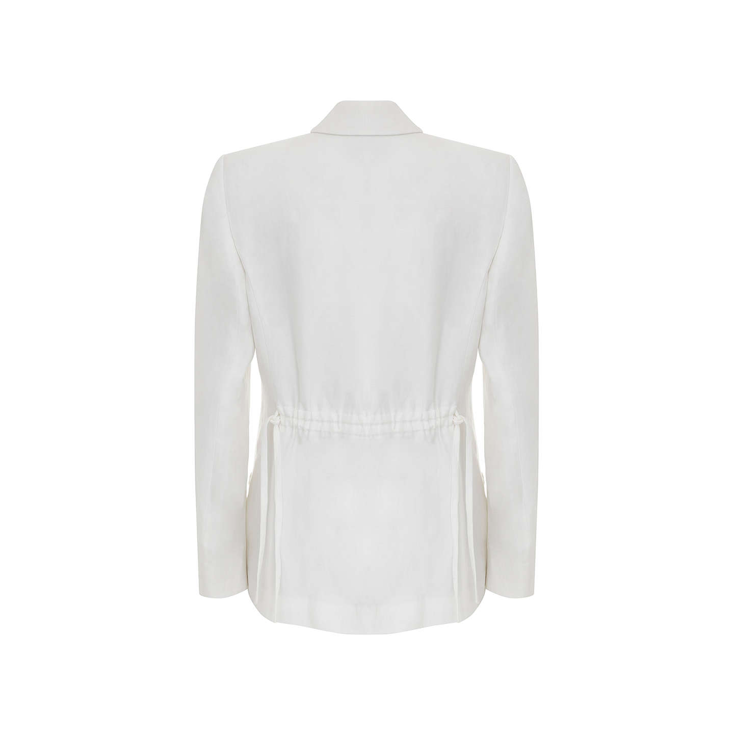 BuyMint Velvet Boyfriend Blazer, Cream, 6 Online at johnlewis.com
