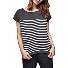 Buy Gerard Darel Apollon T-Shirt, Blue Online at johnlewis.com