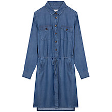 Buy Gerard Darel Diletta Dress, Blue Jeans Online at johnlewis.com