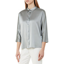 Buy Reiss Larue Satin Blouse Online at johnlewis.com