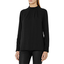 Buy Reiss Aleka Long Sleeve Detailed Blouse Online at johnlewis.com