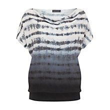 Buy Mint Velvet Ines Print Cowl Neck Batwing Knit, Multi Online at johnlewis.com