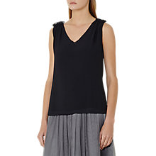 Buy Reiss Star Gathered Shoulder Tank Top Online at johnlewis.com