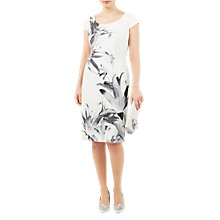 Buy Jacques Vert Lily Shift Dress, Multi Online at johnlewis.com