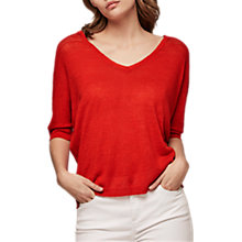 Buy Gerard Darel Miles Jumper, Red Online at johnlewis.com