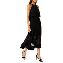 Buy Coast Lola Shorter Length Midi Dress, Black Online at johnlewis.com