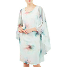 Buy Jacques Vert Drape Cape Dress, Multi Online at johnlewis.com