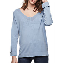 Buy Gerard Darel Abigail Knit, Light Indigo Online at johnlewis.com