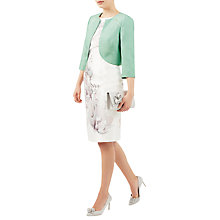 Buy Jacques Vert Raglan Detail Bolero, Pastel Green Online at johnlewis.com