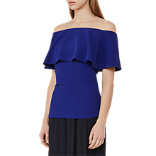 Buy Reiss Balmer Off The Shoulder Top Online at johnlewis.com