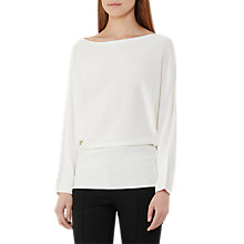 Buy Reiss Evanna Slash Neck Jumper Online at johnlewis.com