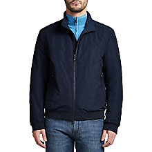 Buy BOSS Green Jaudimo Bomber Jacket, Navy Online at johnlewis.com